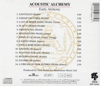 Acoustic Alchemy - Early Alche...